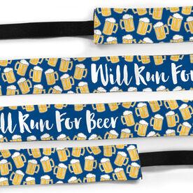 Running Julibands No-Slip Headbands - Will Run For Beer