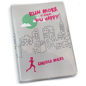 GoneForaRun Running Journal - Run More It Makes You Happy