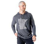 Men's Running Lightweight Hoodie - Minnesota State Runner