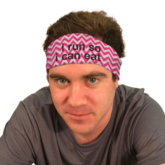 RokBAND Multi-Functional Headband - I Run So I Can Eat