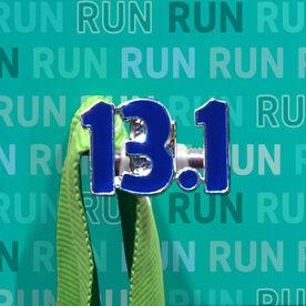 Race Hook Tag 13.1 Half Marathon (Blue)