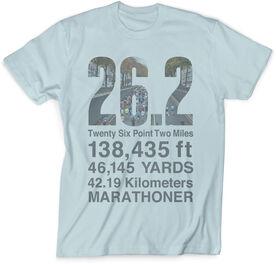 Vintage Running T-Shirt - 26.2 Math Miles