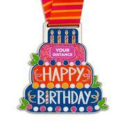 Virtual Race - Happy Birthday Challenge Custom Distance