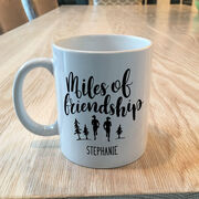 Running Coffee Mug - Miles Of Friendship