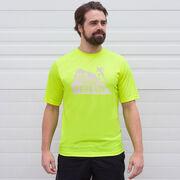 Men's Running Short Sleeve Tech Tee - Run Your Terrain