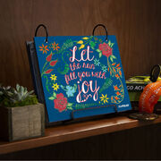 BibFOLIO® Race Bib Album - Let The Run Fill You With Joy