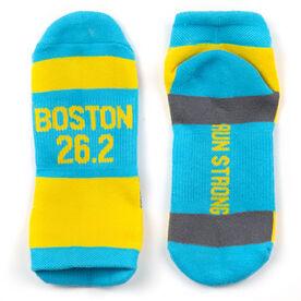 Socrates® Woven Performance Sock - Boston 26.2