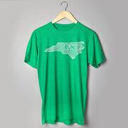 Running Short Sleeve T-Shirt - North Carolina State Runner