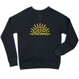 Running Raglan Crew Neck Sweatshirt - Live In The RunShine