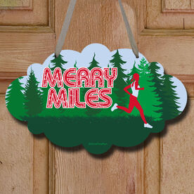 Merry Miles Female Decorative Cloud Sign