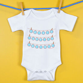Baby One-Piece Future Running Partner Clothes Line