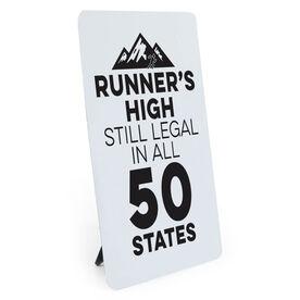 Running Desk Art - Runners High
