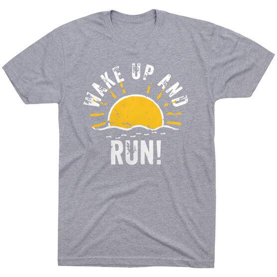 Running Short Sleeve T-Shirt - Wake Up And Run