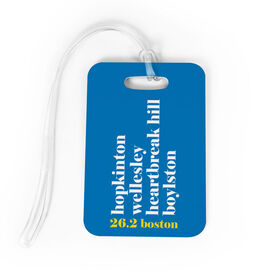 Running Bag/Luggage Tag - Run Mantra (Boston)