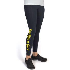 Runner's Leggings Run Like A Girl
