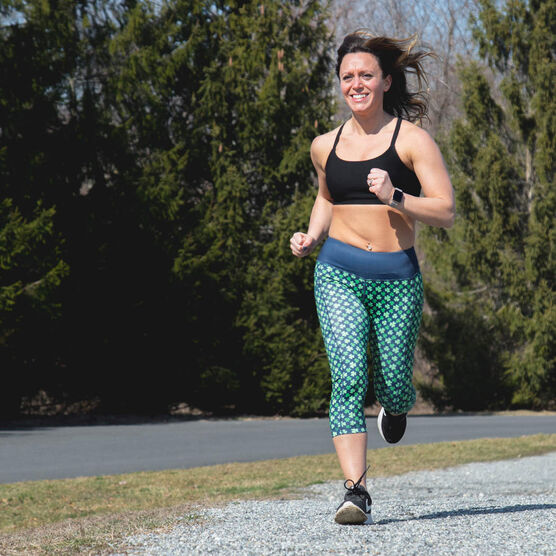Running Performance Capris - Lucky Runner