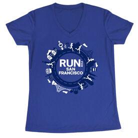 Women's Short Sleeve Tech Tee - Run for San Francisco