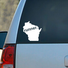 Wisconsin State Vinyl RUNNERDecal