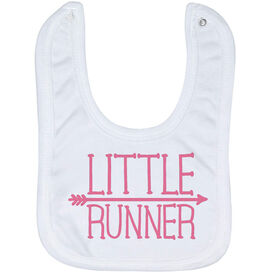 Running Baby Bib - Little Runner