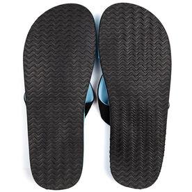 PR SOLES® Recovery Flip Flops V2 - Carolina Blue