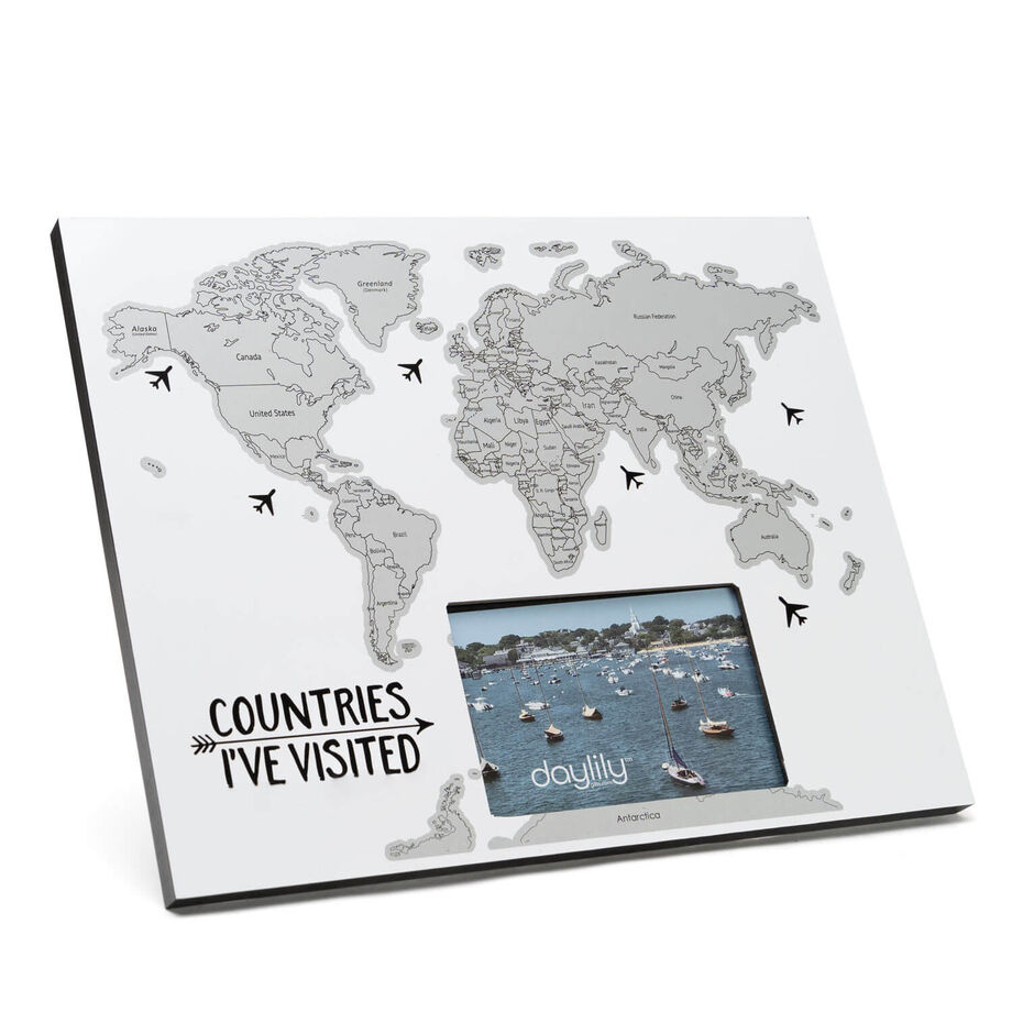 Scratch Off Frame - Countries I've Visited