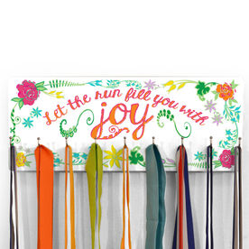 Hooked on Medals Hanger Let The Run Fill You With Joy