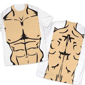 Men's Running Customized Short Sleeve Tech Tee Muscle Man
