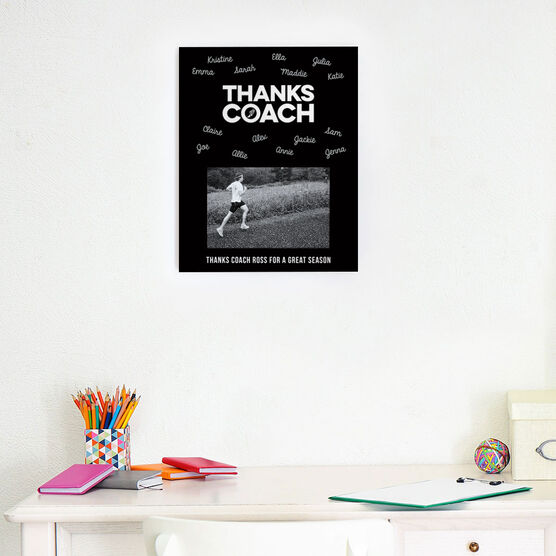 Track and Field Photo Frame - Coach (Autograph) | ChalkTalkSPORTS
