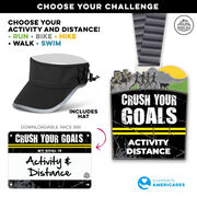 Virtual Race - Crush Your Goals Custom Activity & Distance (2020)