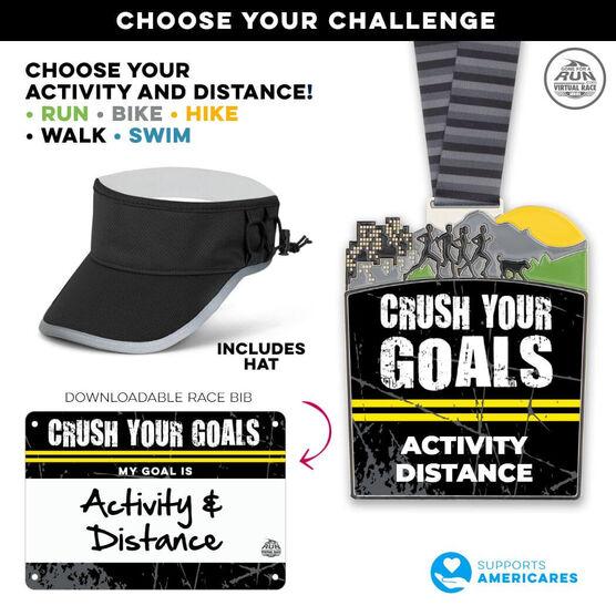Virtual Race - Crush Your Goals Custom Activity & Distance