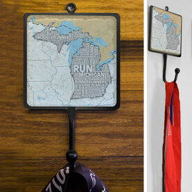 Stone Medal Hook Michigan State Runner Map