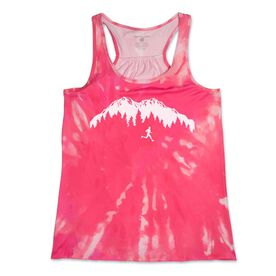 RunTechnology® Performance Tank Top - Trail Runner in the Mountains