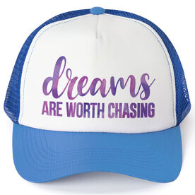 Running Trucker Hat - Dreams Are Worth Chasing