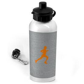 20 oz. Stainless Steel Water Bottle Running Inspiration - Male