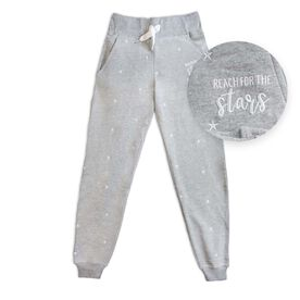 Embroidered Jogger - Stars