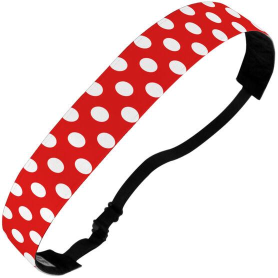 Athletic Juliband No-Slip Headband - Polka Dots