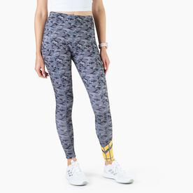 Women's Performance Side Pocket Tights - Command Camo