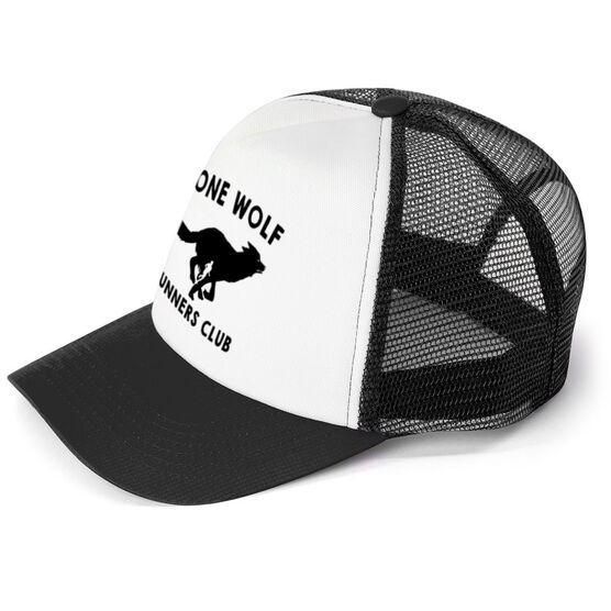 5bc55835 Running Trucker Hat Lone Wolf Runners Club | Running Gift Ideas ...