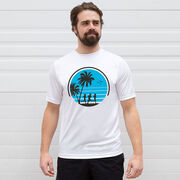 Short Sleeve Performance Tee - Retro Run