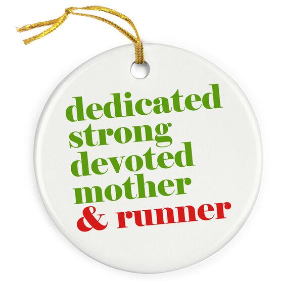Running Porcelain Ornament - Mantra Mother Runner