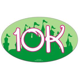 Fairyland 10K Oval Car Magnet