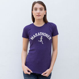 Women's Everyday Runners Tee - Marathoner Girl