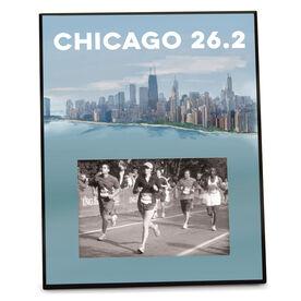Running Photo Frame (Vertical) - Chicago Sketch