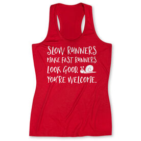 Women's Performance Tank Top - Slow Runners