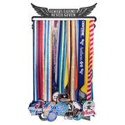 Race Medal Hanger Always Earned Never Given MedalART