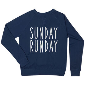 Running Raglan Crew Neck Sweatshirt - Sunday Runday