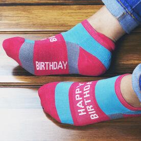 Socrates® Woven Performance Sock - Happy Birthday