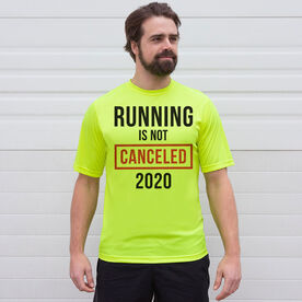 Running Short Sleeve Performance Tee - Running is Not Canceled 2020