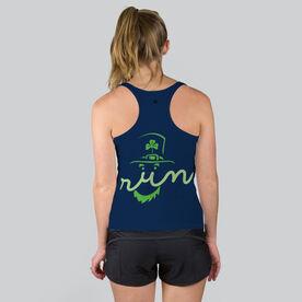 Women's Performance Tank Top - Leprechaun Run Face