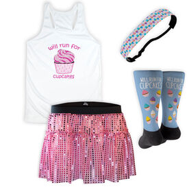 Will Run For Cupcakes Running Outfit